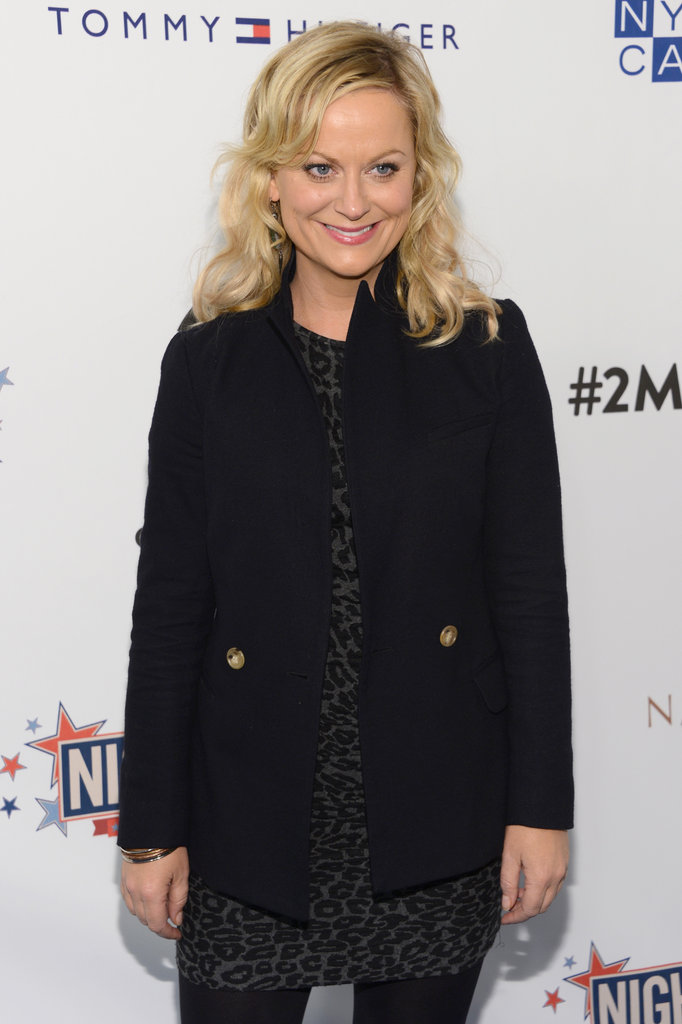 Amy Poehler stepped out in NYC to support autism research.