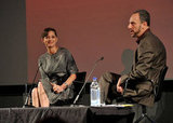 Marion Cotillard was at a screen talk in London.