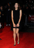 Marion Cotillard wore a black dress at the London Film Festival premiere of Rust and Bone.