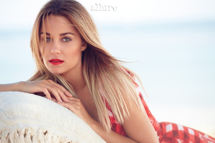 Lauren Conrad posed for Allure.