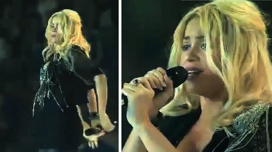 Video: Pregnant Shakira Shakes It on Stage and Speaks to Her Baby-to-Be!