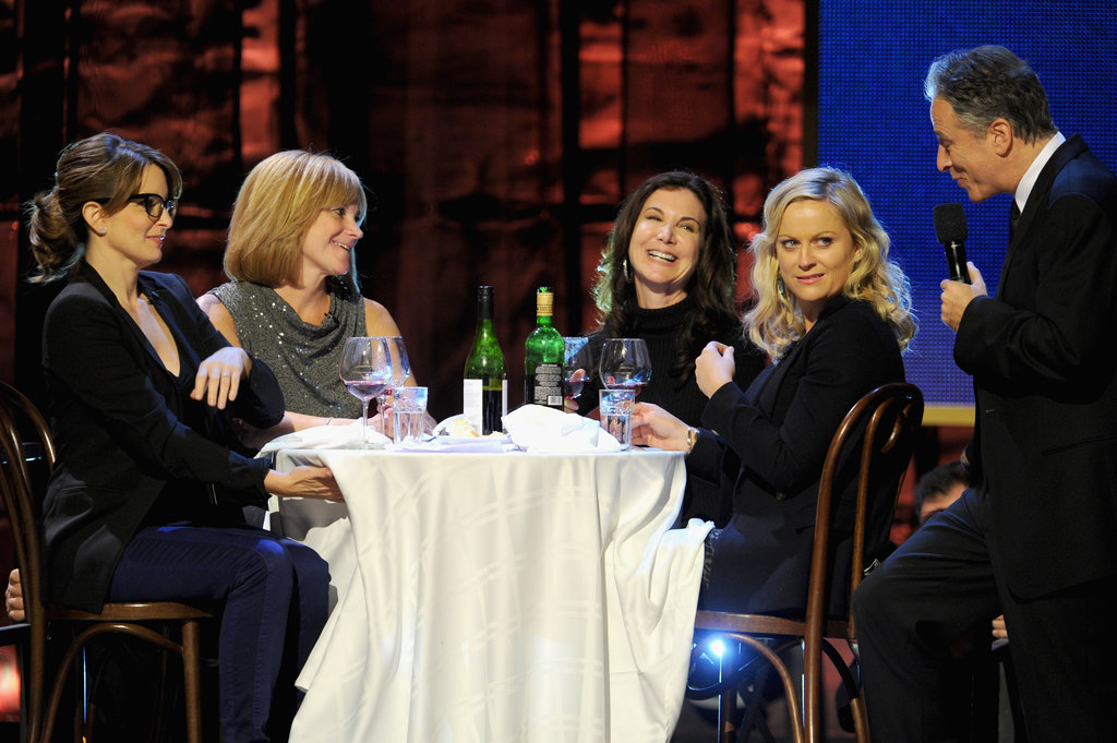 Amy Poehler and Tina Fey attended the Night of To Many Stars benefit in NYC.