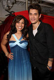 John Mayer and Jordin Sparks snapped a picture together during their VH1 Save the Music charity fundraiser in LA in March 2009.