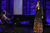 Katy Perry performed onstage at the benefit in NYC.