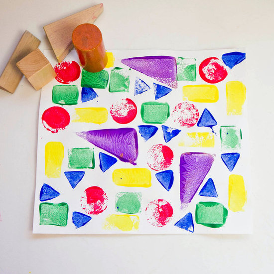 Toddler Shape Arts and Crafts