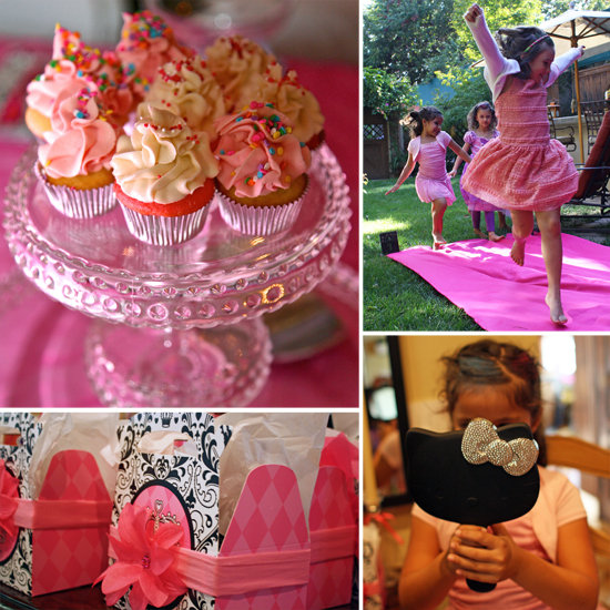 A Stylish Salon Party For Aubrey's Sixth Birthday