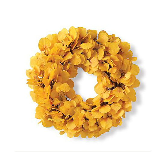 The golds and yellows of this Aspen Leaf Wreath ($88, originally $115) provide a bright, sophisticated adornment for your front door or mantel.