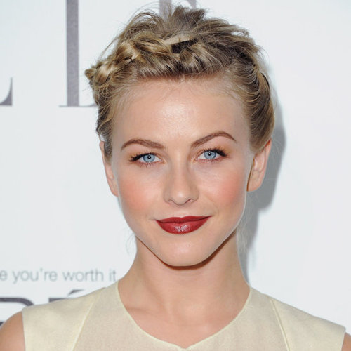 Julianne Hough's Short Hair Updo
