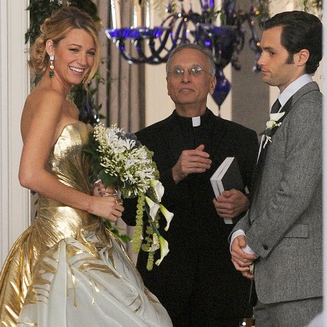 Serena and Dan's Wedding on Gossip Girl