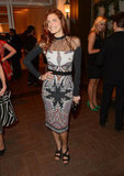 Lake Bell chose an Etro dress to attend the Elle Women in Hollywood Awards.