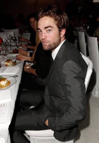 Robert Pattinson posed for photos at the Elle Women in Hollywood Awards.