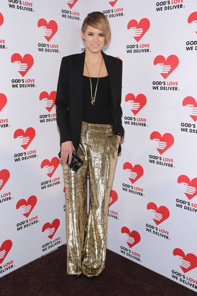 Cody Horn attended the Golden Heart Gala in NYC.