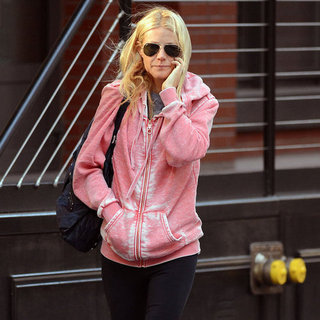 Gwyneth Paltrow Wears Pink to the Gym