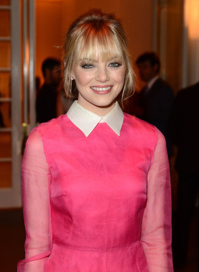 Emma Stone wore a Valantino dress to attend the Elle Women in Hollywood Awards in LA.