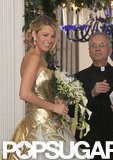 See Blake Lively's Wedding Dress . . . on Gossip Girl!