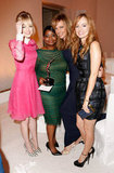 Emma Stone, Octavia Spencer, Allison Janney and Ahna O'Reilly posed for photos at the Elle Women in Hollywood Awards in LA.