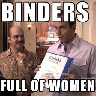 Binders Full of Women Meme