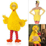 Big Bird Halloween Costume 3 Ways: Sexy, Funny, and Scary