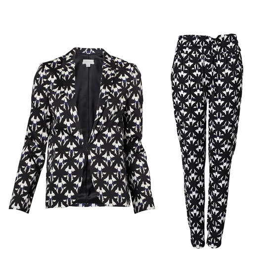 Blazer, $249.95, Witchery and pants, $129.95, Witchery