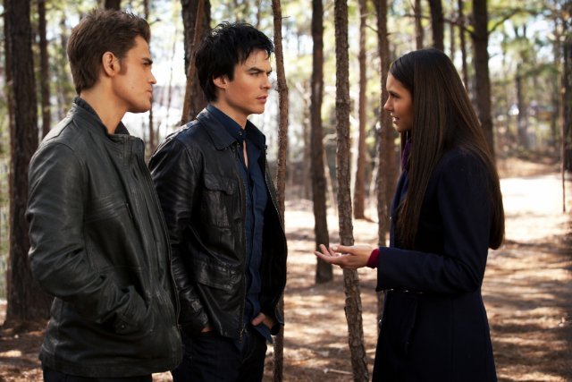 The Trio From The Vampire Diaries