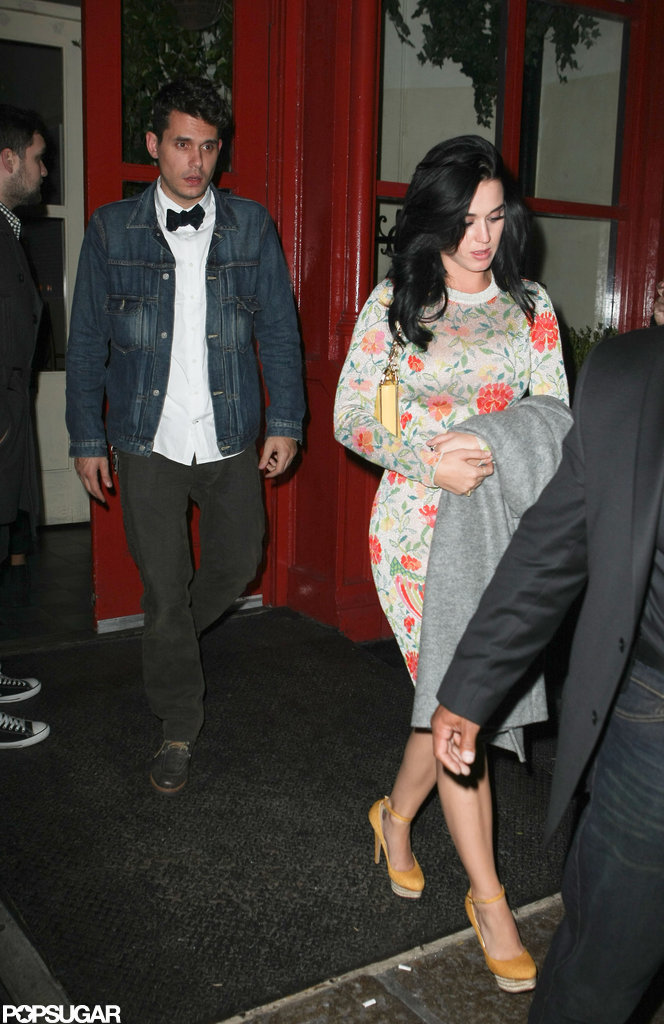 Katy Perry went out for dinner in NYC.
