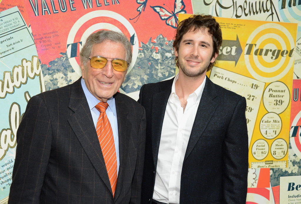 Tony Bennett and Josh Groban attended the Target 50th anniversary celebration in NYC