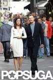 Olivia Wilde and Liam Neeson were in Rome working on their new film The Third Person.