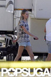 Kate Bosworth Hits the Homefront Set With James and Jason