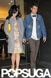 Katy Perry and John Mayer were out in NYC.
