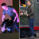 Ryan Gosling and Rooney Mara Dance Close and Kiss on Set