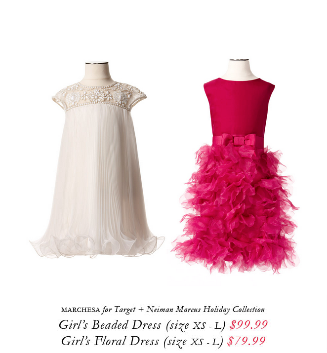 Marchesa for Target + Neiman Marcus holiday collection.