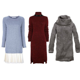 Cute Sweater Dresses For Fall 2012