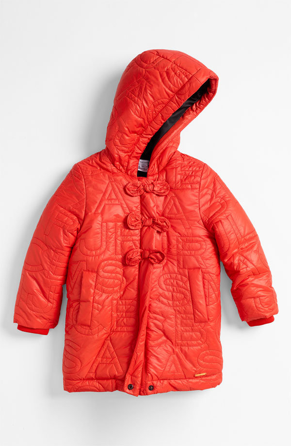 Little Marc Jacobs Embroidered Puffer Jacket