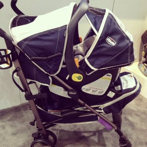 Chicco's new lightweight plus stroller will be released in December. It is an umbrella stroller system that the Chicco Key Fit infant carrier snaps right into.