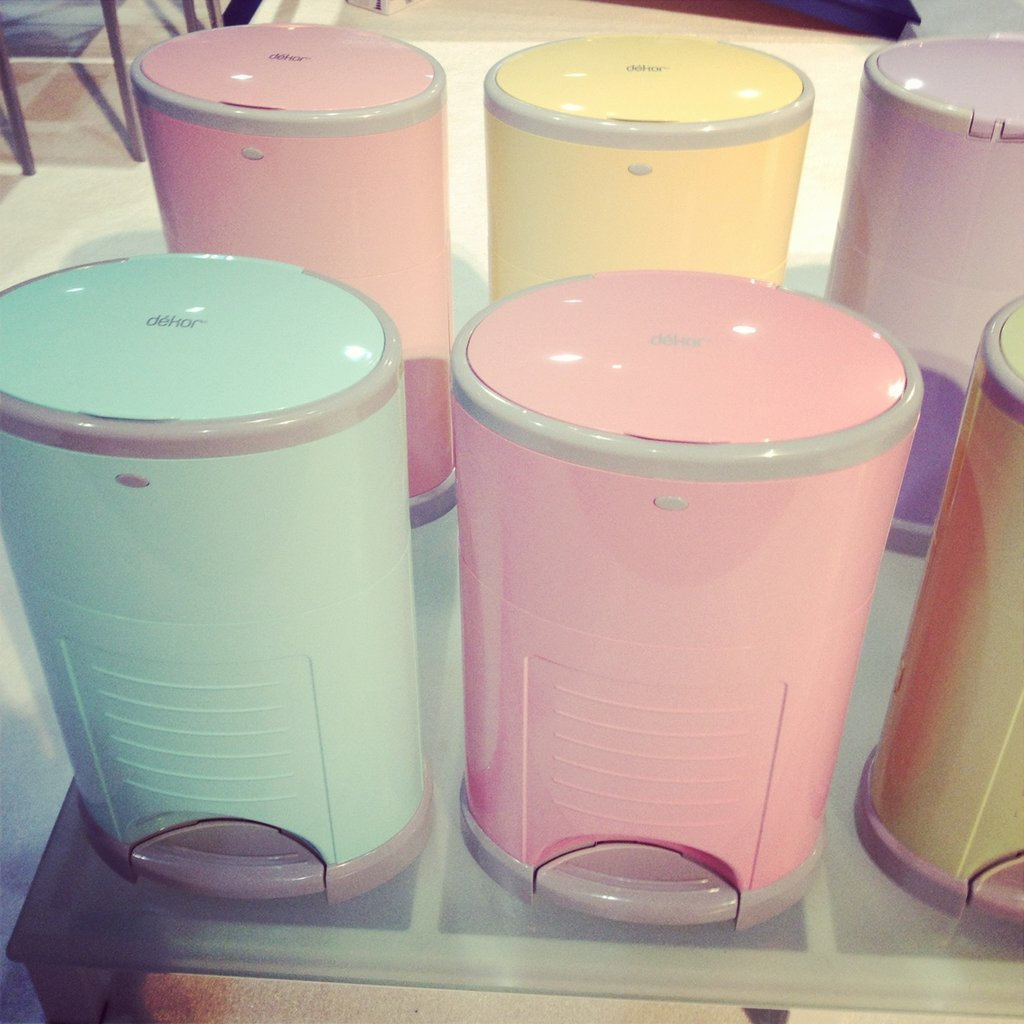 Diaper Dekor is introducing color to its diaper pail line.