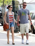 Jessica Biel and Justin Timberlake held hands during a May 2010 walk around NYC.