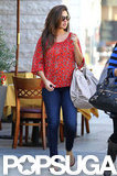 Vanessa Minnillo was out and about in LA.