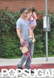 Freddie Prinze Jr. and Charlotte Prinze headed to school in LA.