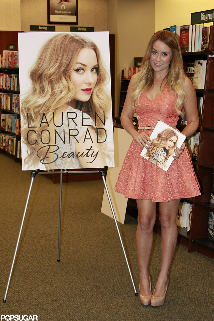 Lauren Conrad arrived at Barnes & Noble in Philadelphia.