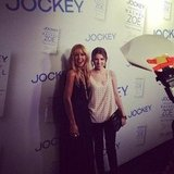 Rachel Zoe and Anna Kendrick posed together on the red carpet. Source: Instagram user jockeyinternational