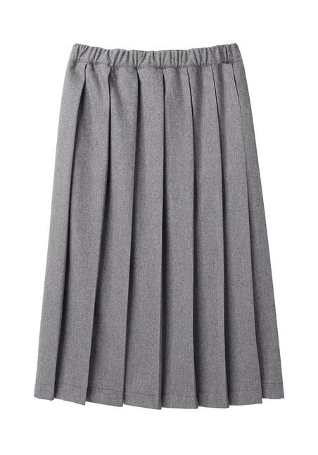A Preppy Pleated Skirt