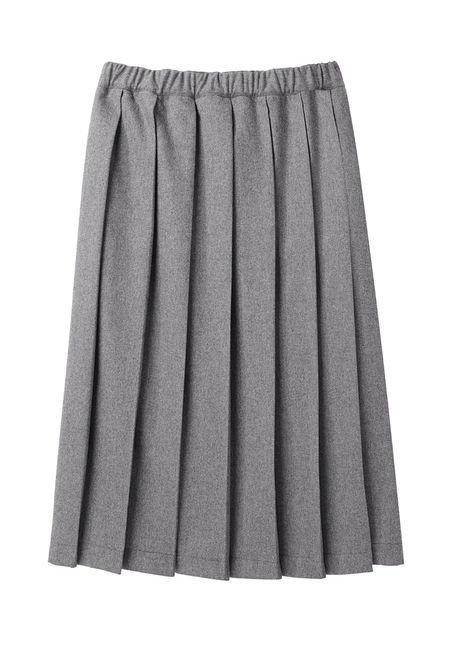 A Preppy Pleated Skirt