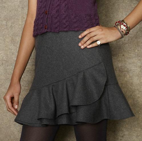A Flouncy Skirt