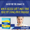 ENTER TO WIN THE HEALTHY COLLEGE LIVING GIVEAWAY