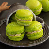 Fleur de Sel Caramel Apple Macarons, Perfect for an Autumn Wedding
