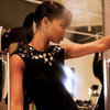 Behind the Scenes of Chanel Iman's Amazon Holiday 2012 Ads