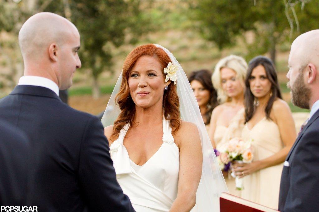 Elisa Donovan married Charlie Bigelow in California. Photos courtesy Scott Robert