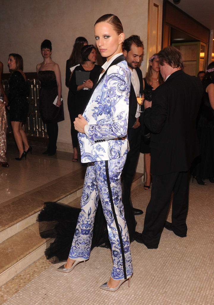 Karolina Kurkova at the Bergdorf Goodman 111th Anniversary Celebration in NYC.