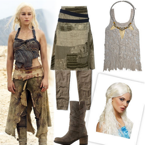 Game of Thrones fan? We showed you how to channel the dragon lady herself with this Daenerys Targaryen Halloween outfit.
