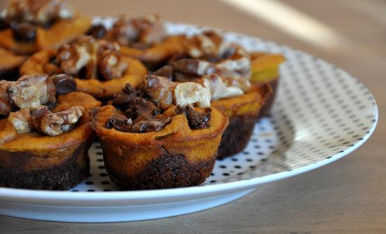 Easy Pumpkin Brownies